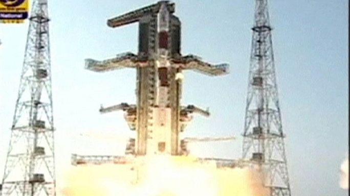 Inde : mise en orbite réussie d'un nouveau satellite de navigation