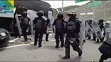 На юге Мексики произошла стычка студентов с полицией