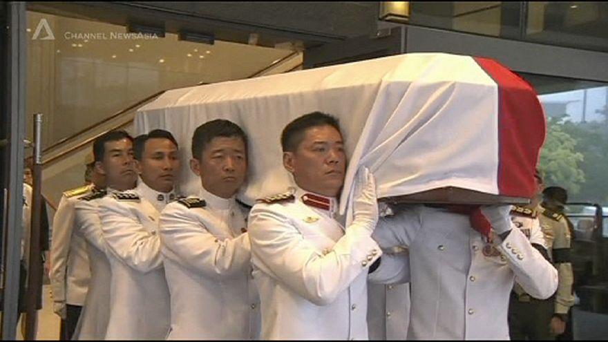 Singapur: Gründervater Lee Kuan Yew beigesetzt