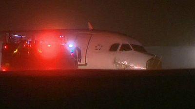 Canada: A320 Air Canada finisce fuori posta a Halifax, solo contusi