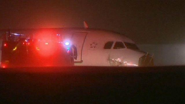 Kanada: az Air Canada gépe balesetet szenvedett