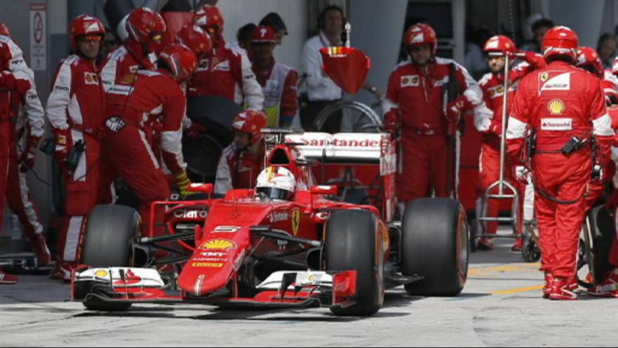 Malaysian Grand Prix: Vettel strikes back