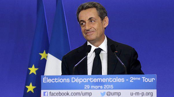 El triunfo de Sarkozy y Marine Le Pen