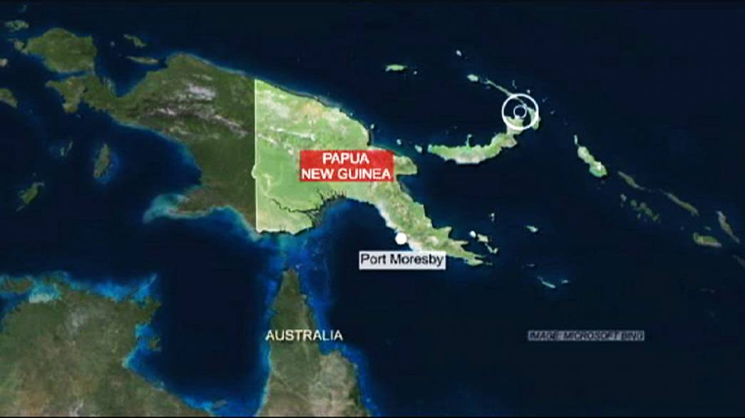 Schweres Erdbeben bei Papua-Neuguinea