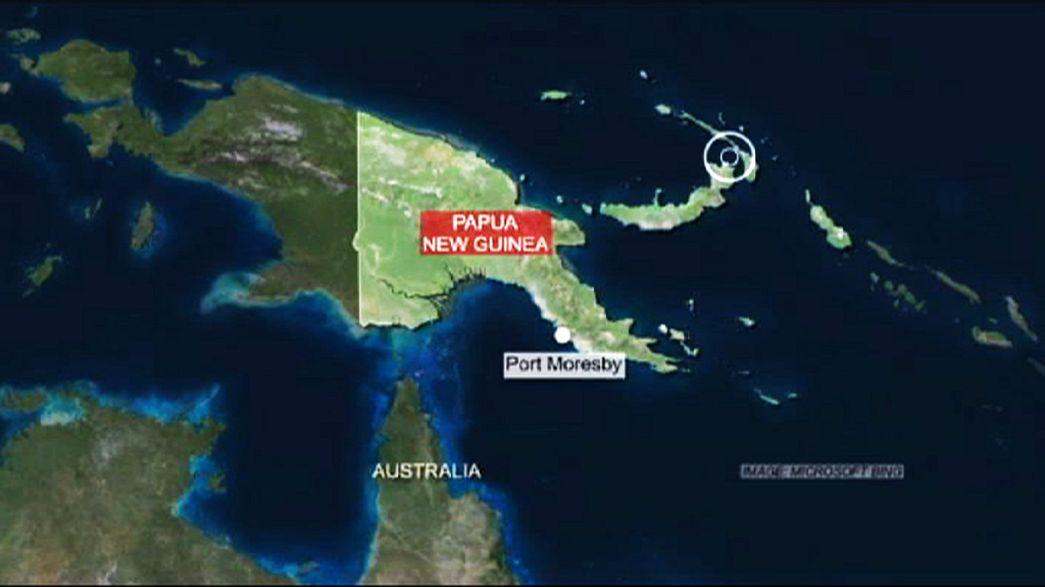 Major earthquake rocks Papua New Guinea