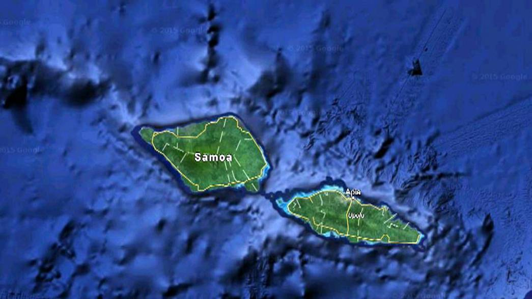 Magnitude 6.8 quake hits off Samoa