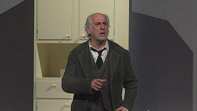 "Toni Servillo presenta en Lyon ""Voces desde el interior"" de Eduardo De Filippo"
