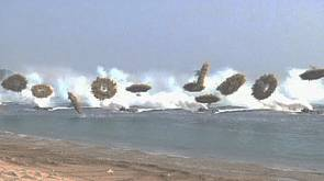 Military drill in South Korea