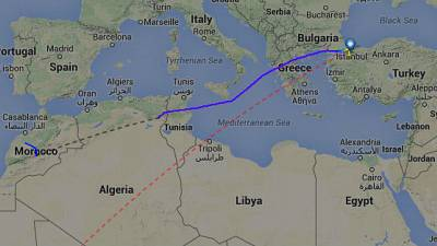 Bombendrohung auf dem Klo bei Turkish Airlines
