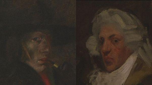 آثار پیکاسو و دالی در کنار یکدیگر