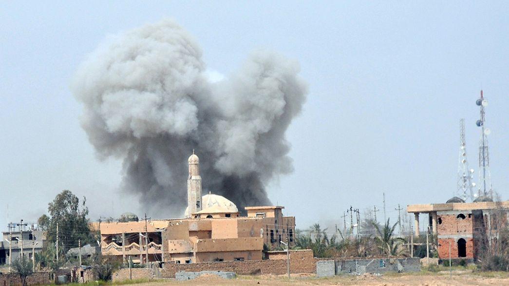Tikrit: Irão acusa drone norte-americano de matar dois conselheiros militares