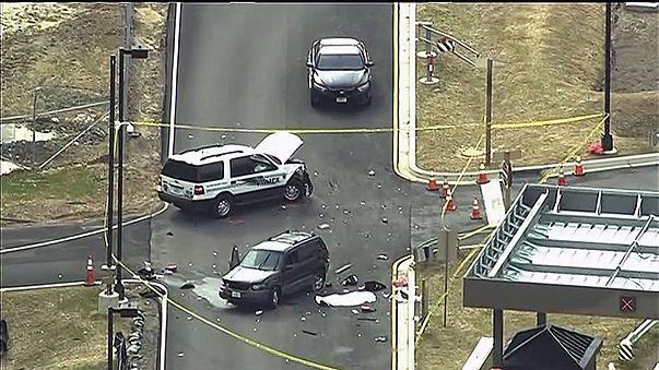 الولايات المتحدة: محاولة اقتحام وكالة الاستخبارات أن.أس.أي بواسطة سيارة انتهت بمقتل أحد منفذي العملية و جرح آخر