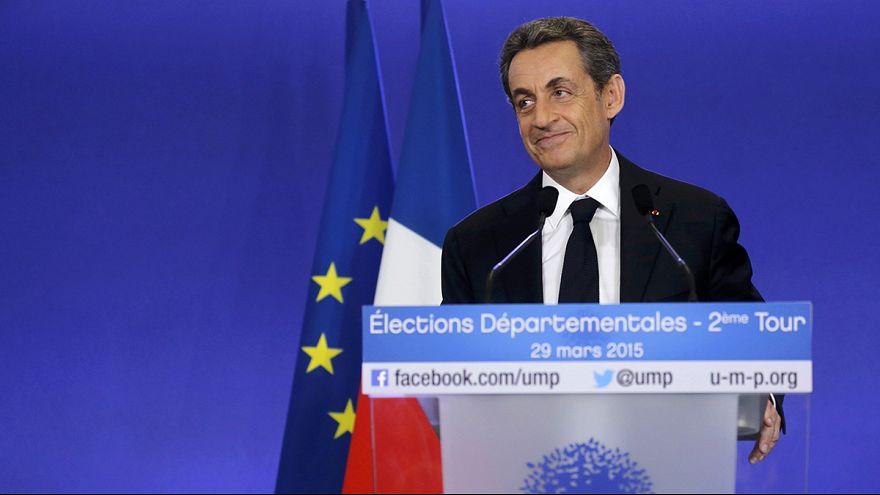 Партия Саркози выиграла региональные выборы во Франции