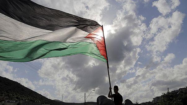 """Összecsapások a palesztin """"Föld napján"""""""