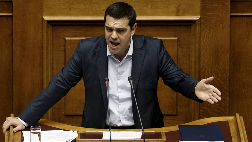 Heated exchanges in Athens as Greek PM vows not to capitulate over bail-out extension plans