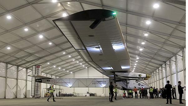 Solar Impulse 2 прилетел в Китай