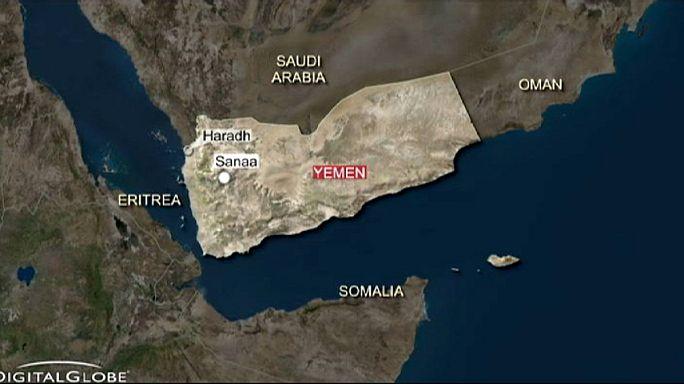 Nők és gyerekek haltak meg a jemeni menekülttábor bombázásában