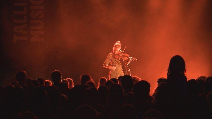 Tallinn : du violon associée à la musique électronique