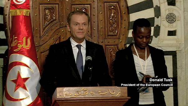 Tusk promete ayuda europea a Túnez