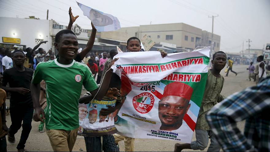 Nigéria: apoiantes festejam vitória histórica de Buhari