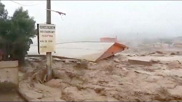 سیل مرگبار در شیلی بیش از ۷۰ کشته و مفقود به جای گذاشت