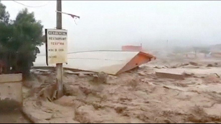 Inondations meurtrières dans le nord aride du Chili