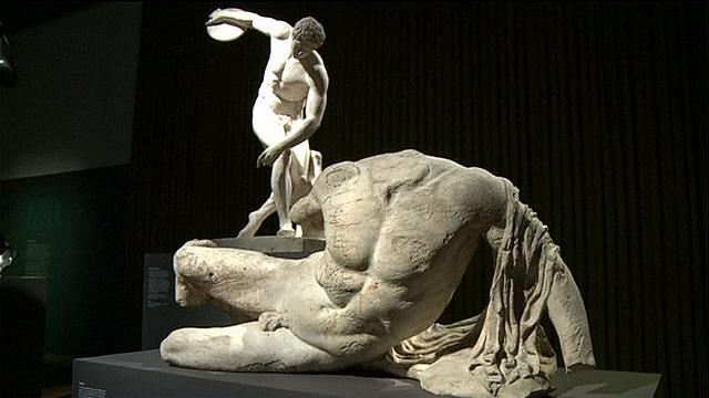 Ancient Greek statues still excite in new British Museum show
