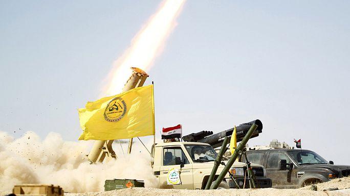 Иракская армия празднует победу в битве за Тикрит
