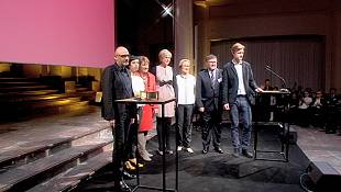 Greece and Ukraine crises reflected at European cultural awards