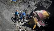 Don't ask about the co-pilot: Lufthansa boss refuses questions at Alps crash site