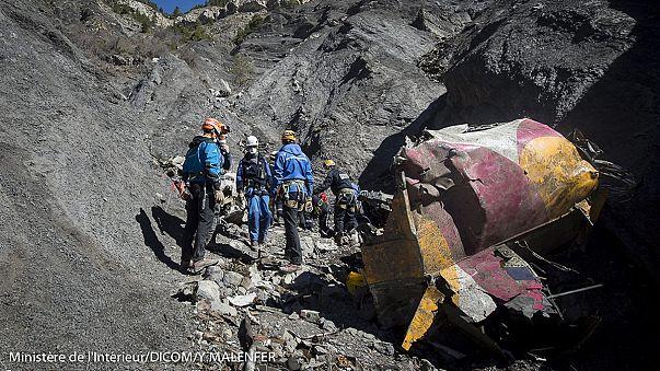 تسارع في عمليات التعرف على أجساد تحطم طائرة جيرمان وينغز