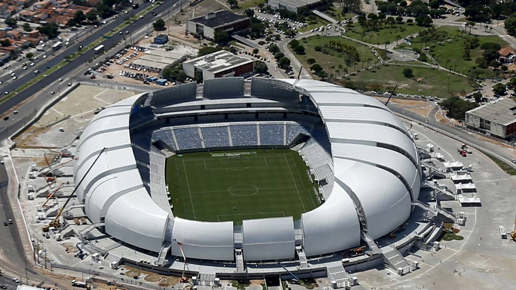 Brésil : deux stades du Mondial sont à vendre !