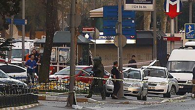 Female attacker shot dead near Instanbul police building
