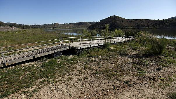 Vészesen fogy a víz Kaliforniában