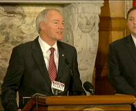 Arkansas governor enters fray over controversial US religious freedom bill