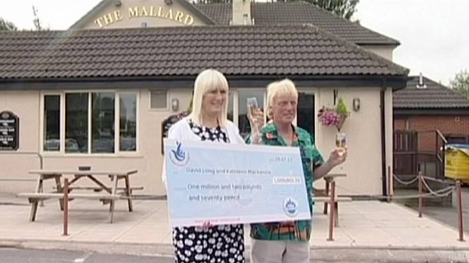 UK couple win second lottery jackpot
