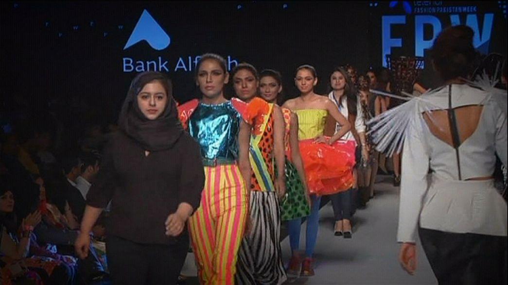 Karachi zeigt pakistanische Modetrends
