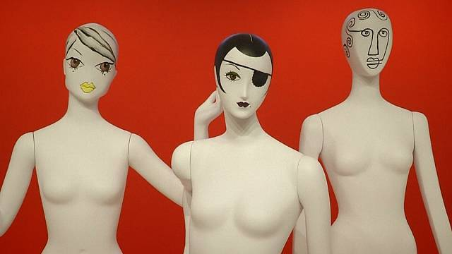 Mannequins like you've never seen them before in the Big Apple