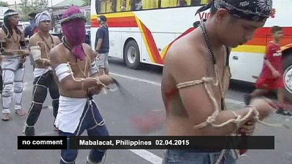 Self-flagellation in Philippines