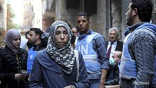 Palestinian refugees outside Syrian capital 'at extreme risk of death'