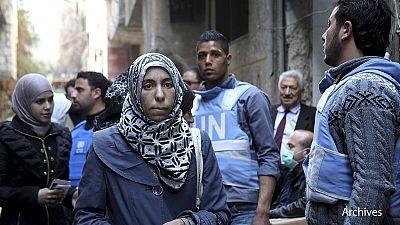 Síria: combates no campo de refugiados palestinianos de Yarmuk