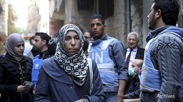 Szíria: harcok a Damaszkusz melletti menekülttáborban