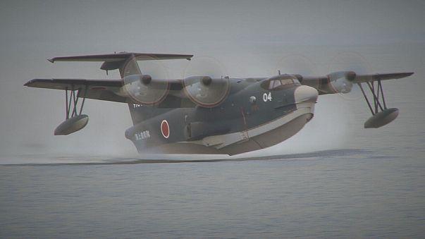Japonlardan hayat kurtaran uçak