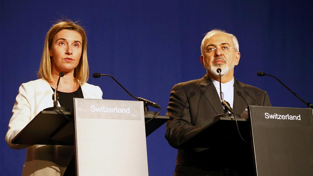 Irán y las potencias mundiales llegan a un principio de acuerdo en Suiza