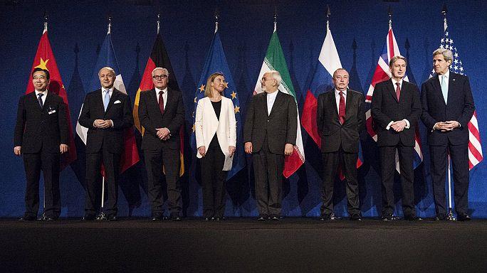 "اتفاق نووي ""تاريخي"" بين إيران ومجموعة 5+1 يعبِّد الطريق لاتفاق نهائي"