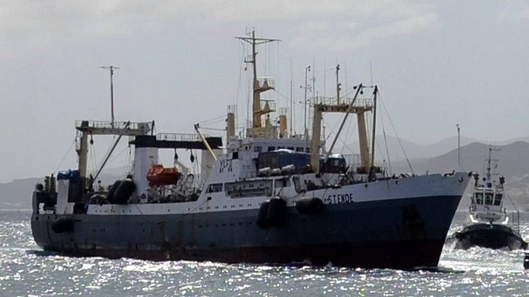 At least 56 dead in Russian trawler disaster