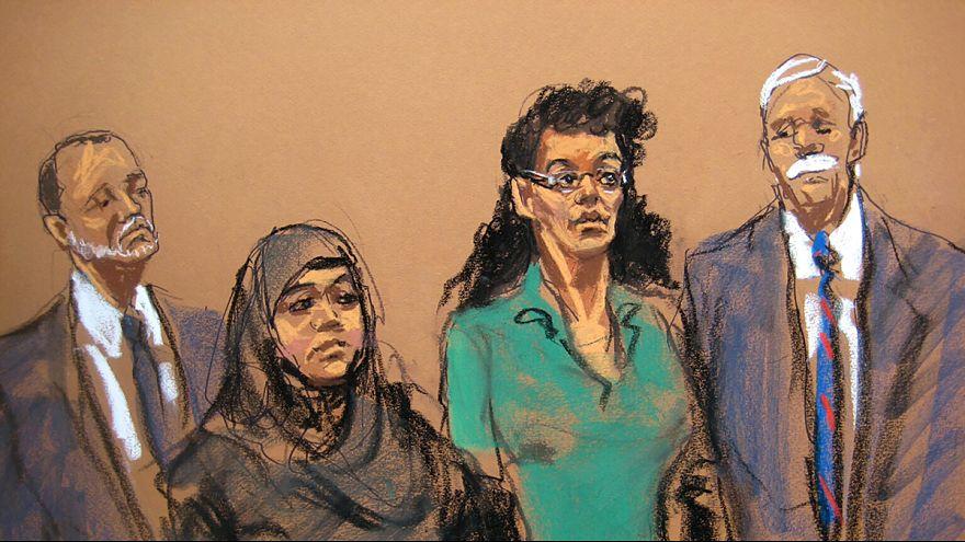 Comparecen ante un tribunal de Brooklyn dos mujeres acusadas de planear atentar en suelo estadounidense