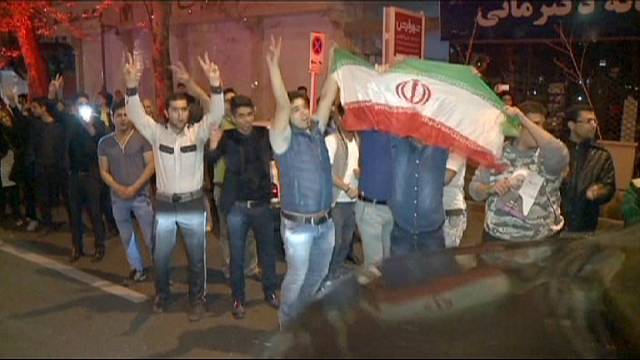 Nuclear deal sparks celebrations in sanctions-weary Iran