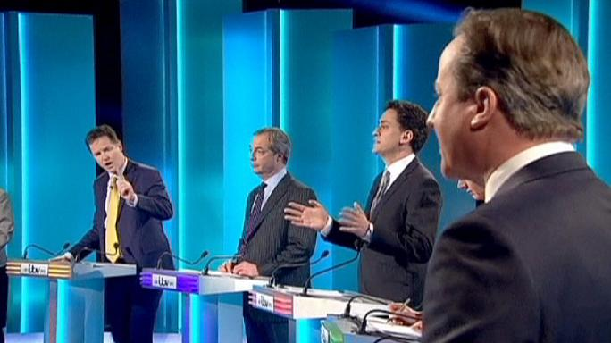 No clear winner emerges from UK TV election debate
