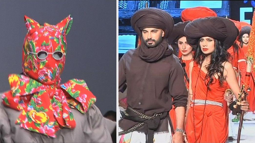 تألق الموضة الآسيوية في أسبوعي بكين وكاراتشي للموضة